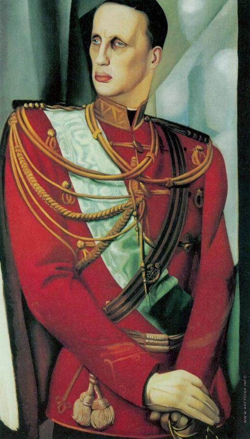Лемпицка Т. Б. Портрет Великого князя Гавриила Константиновича