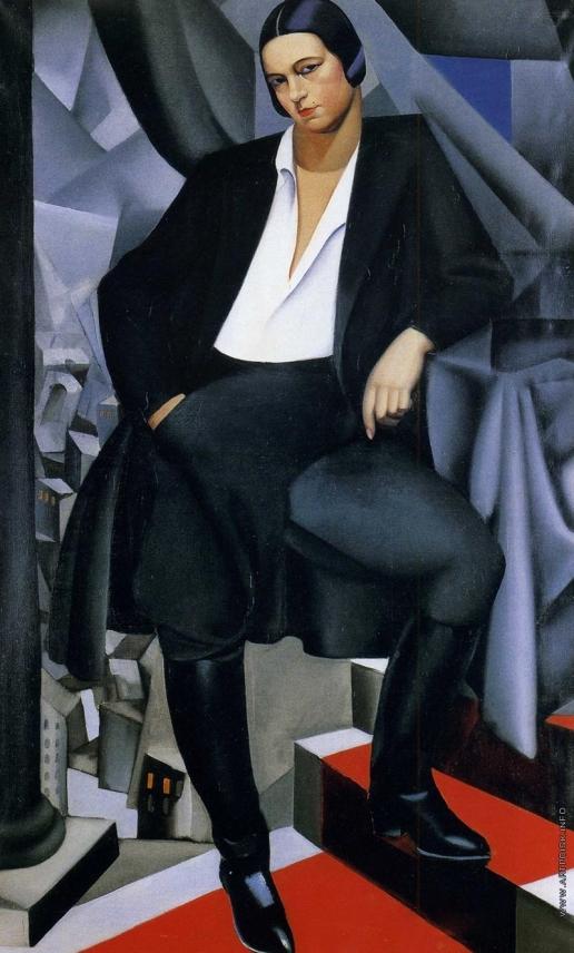 Лемпицка Т. Б. Портрет герцогини де Ла Саль