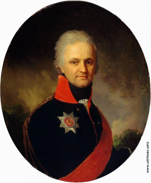 Боровиковский В. Л. Портрет неизвестного генерала из семьи Бенкендорф