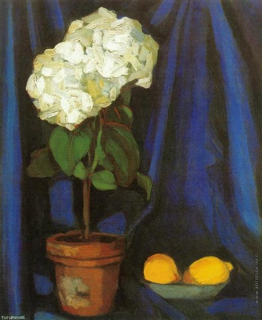 Лемпицка Т. Б. Гортензия и лимоны