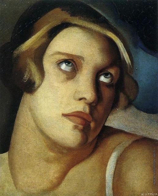 Лемпицка Т. Б. Портрет мадам G