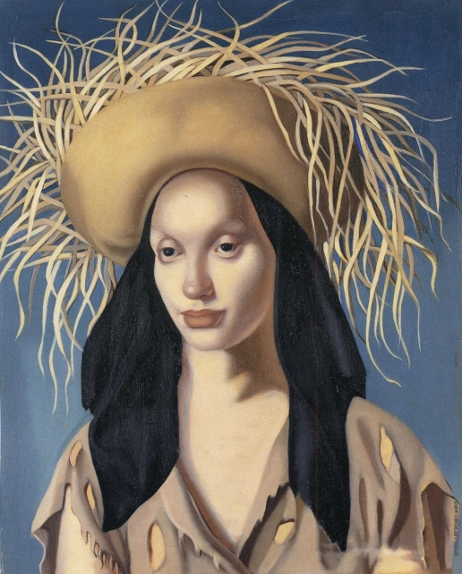 Лемпицка Т. Б. Портрет девушки. (Мексиканка)