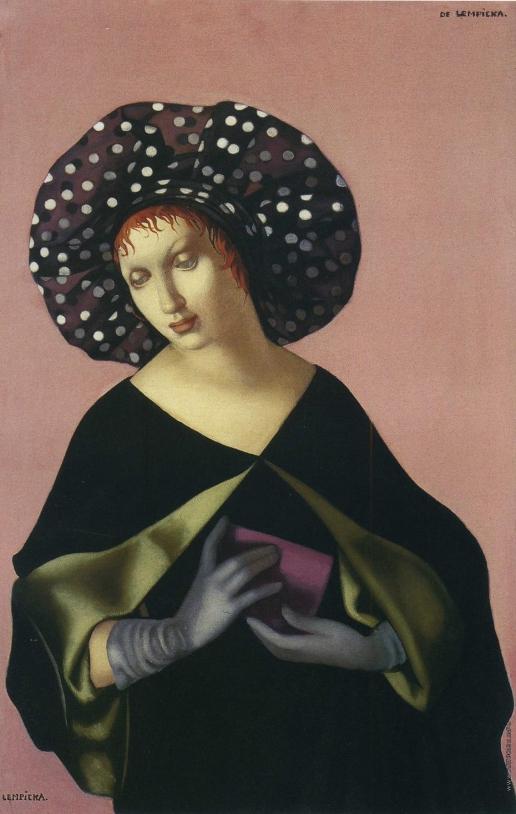 Лемпицка Т. Б. Женщина в шляпе