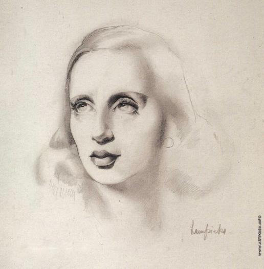 Лемпицка Т. Б. Автопортрет