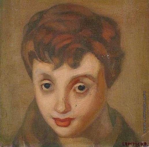Лемпицка Т. Б. Портрет Француазы Саган