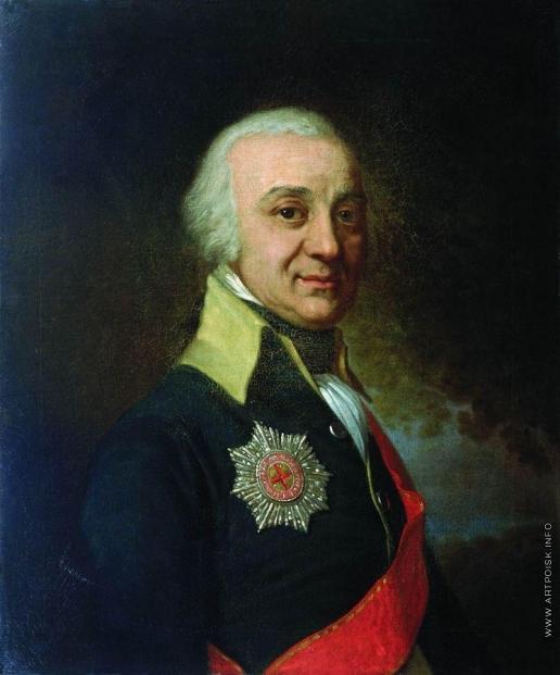 Боровиковский В. Л. Портрет сенатора Рунича