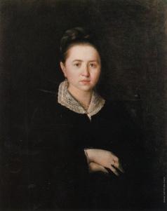 Перов В. Г. Портрет Анны Ивановны Сергеевой (Шеиной). (Портрет неизвестной)