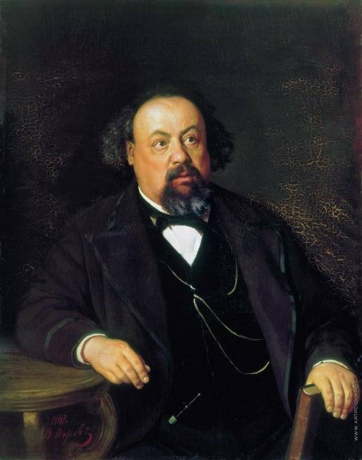 Перов В. Г. Портрет писателя А.Ф. Писемского