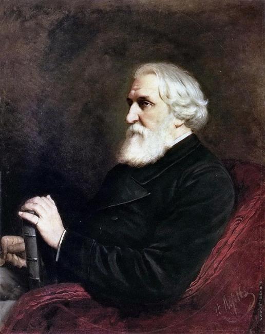 Перов В. Г. Портрет писателя Ивана Сергеевича Тургенева