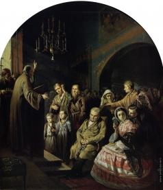 Перов В. Г. Проповедь в селе
