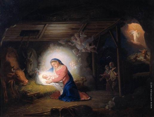 Боровиковский В. Л. Рождество Христово