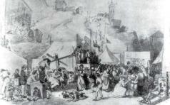 Перов В. Г. Праздник в окрестностях Парижа. (Эскиз)