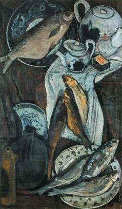 Бальер А. И. Натюрморт с рыбами