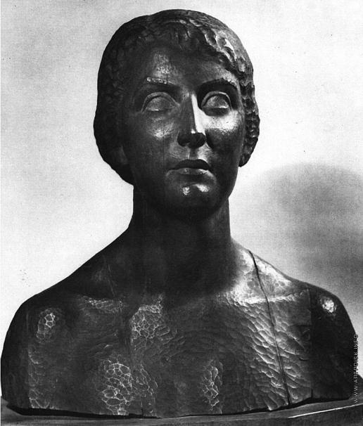 Пламадялэ А. М. Женский портрет