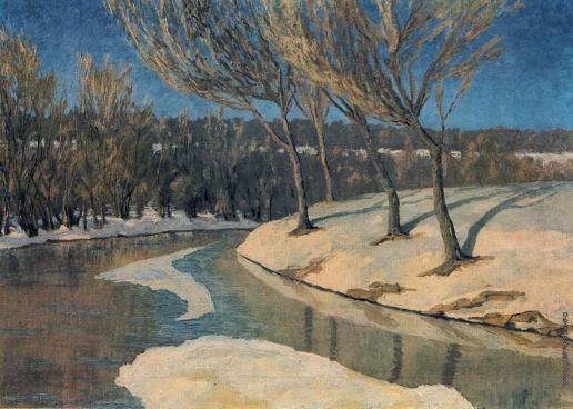 Климашевский А. В. Зима в Липканах