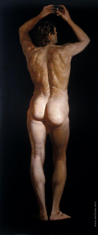 Бочаров С. П. Адам. Левая часть диптиха «Адам и Ева»