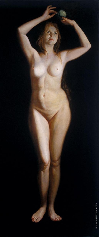 Бочаров С. П. Ева. Правая часть диптиха «Адам и Ева»