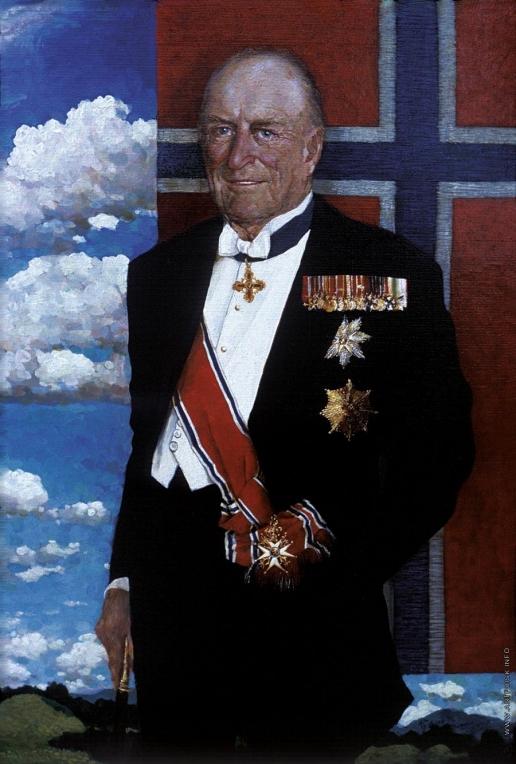 Бочаров С. П. Портрет короля Норвегии Олафа