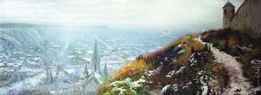Бочаров С. П. Начало зимы у стен Кремля в Тобольске