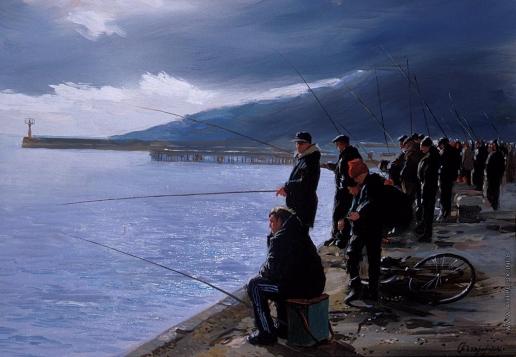 Бочаров С. П. Ялтинские рыбачки