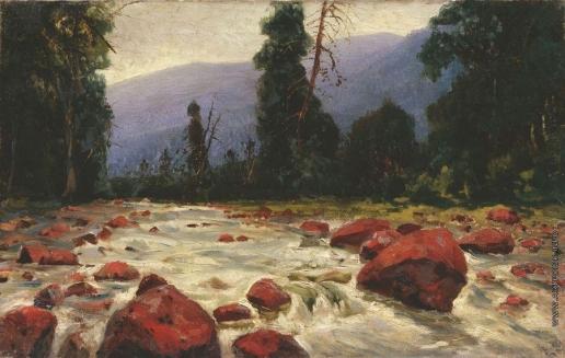 Бровар Я. И. Красные камни на реке Похабиха
