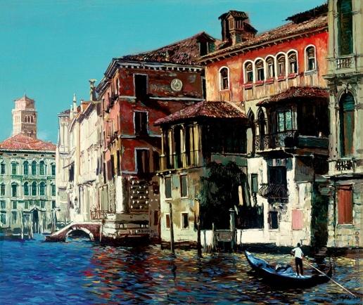 Бочаров С. П. Дворец Фальер и Большой канал в Венеции