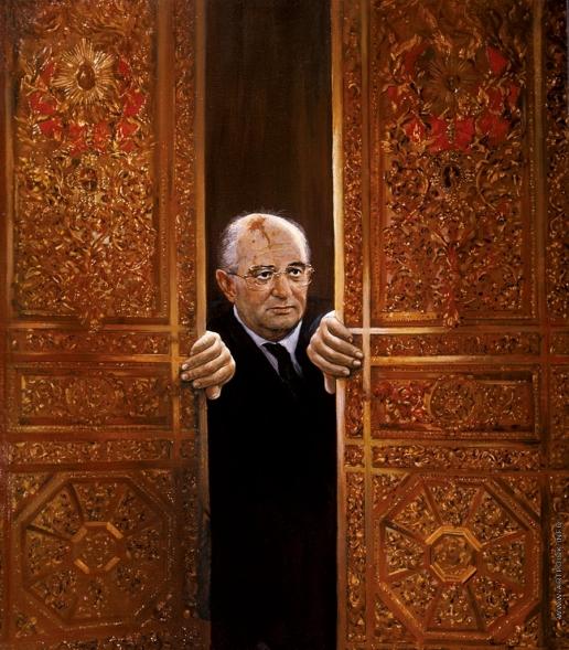 Бочаров С. П. Рвущийся. Портрет М.С. Горбачева