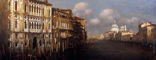 Бочаров С. П. Венеция. Большой канал и дворец Франкетто в полдень