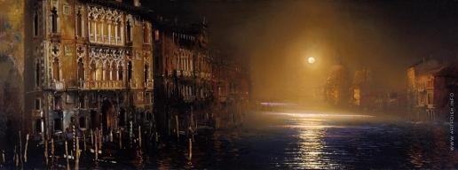 Бочаров С. П. Венеция. Большой канал в лунную ночь
