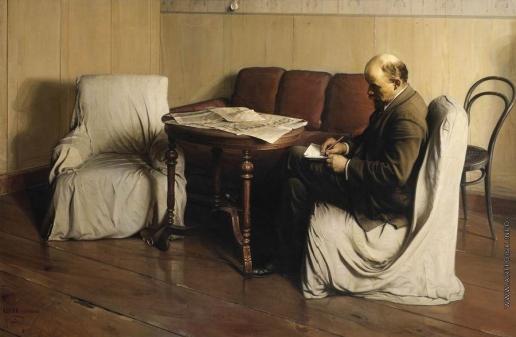 Бродский И. И. Владимир Ильич Ленин в Смольном