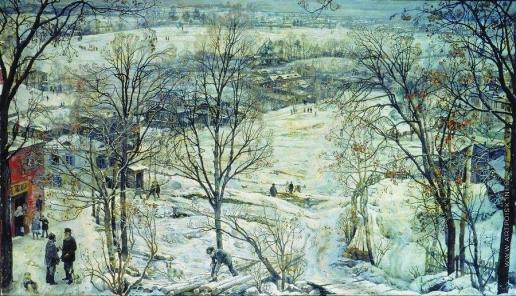 Бродский И. И. Зима. 1919-