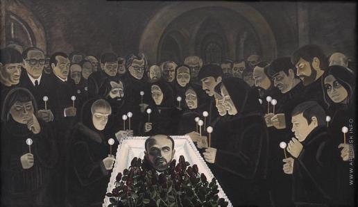 Обросов И. П. Похороны В. Попкова