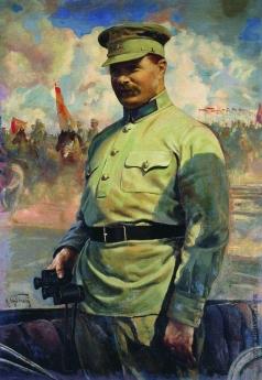 Бродский И. И. М.В.Фрунзе на маневрах