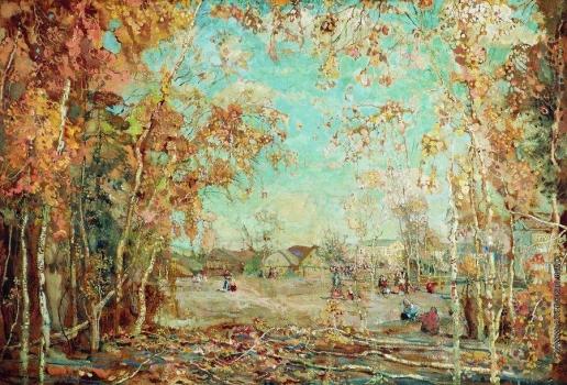 Бродский И. И. Осень