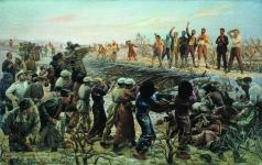 Бродский И. И. Расстрел 26 бакинских комиссаров
