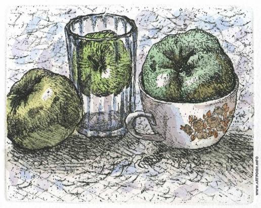 Дергилева А. И. Три яблока