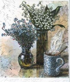 Дергилева А. И. Ладндыши и незабудки. Зеленый чай