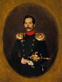 Федотов П. А. Портрет неизвестного офицера. (И.М. Родиванского?)