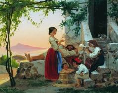 Бронников Ф. А. В кругу семьи