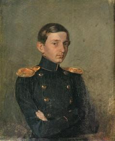 Федотов П. А. Портрет М.П. Ждановича