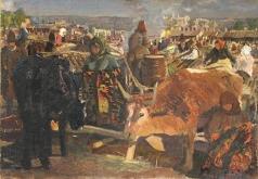 Васильев А. А. На кишиневском базаре
