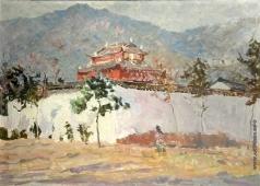 Васильев А. А. Китай. Храм