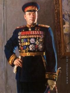 Китайка К. Д. Портрет маршала Советского Союза К.К. Рокоссовского