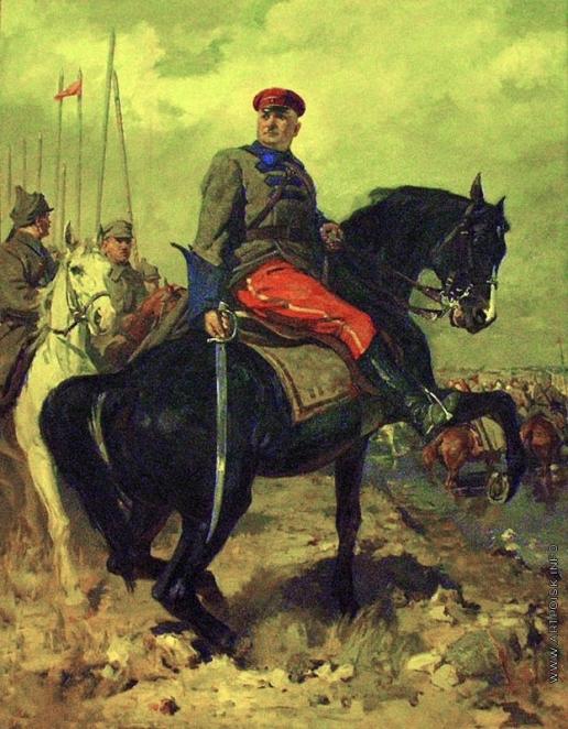 Китайка К. Д. Портрет героя гражданской войны Г.И. Котовского