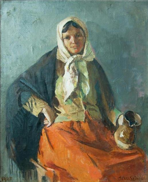 Саинчук Г. В. Женский портрет