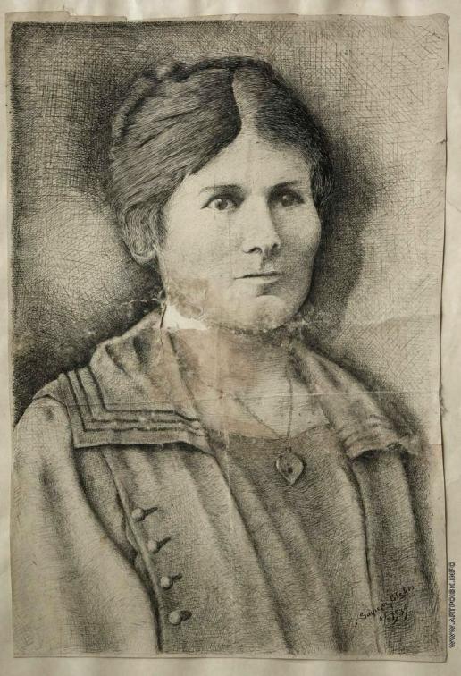 Саинчук Г. В. Портрет матери
