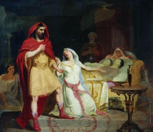 Бронников Ф. А. Исторический сюжет. Возвращение Улисса в свой дом