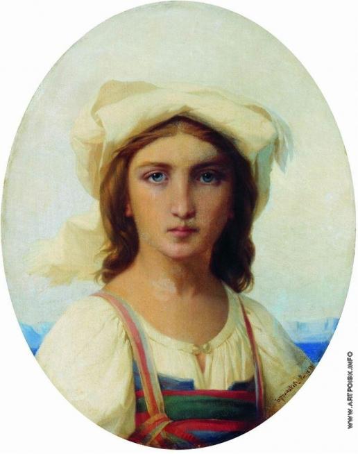 Бронников Ф. А. Итальянка