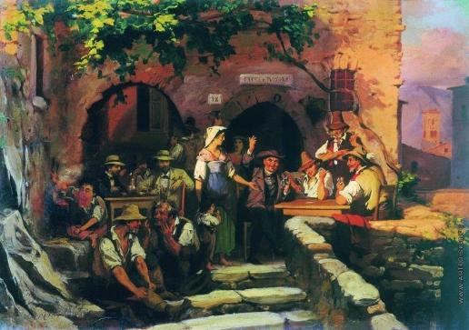 Бронников Ф. А. Итальянская таверна
