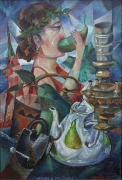 Калинин В. В. Натюрморт с грушей